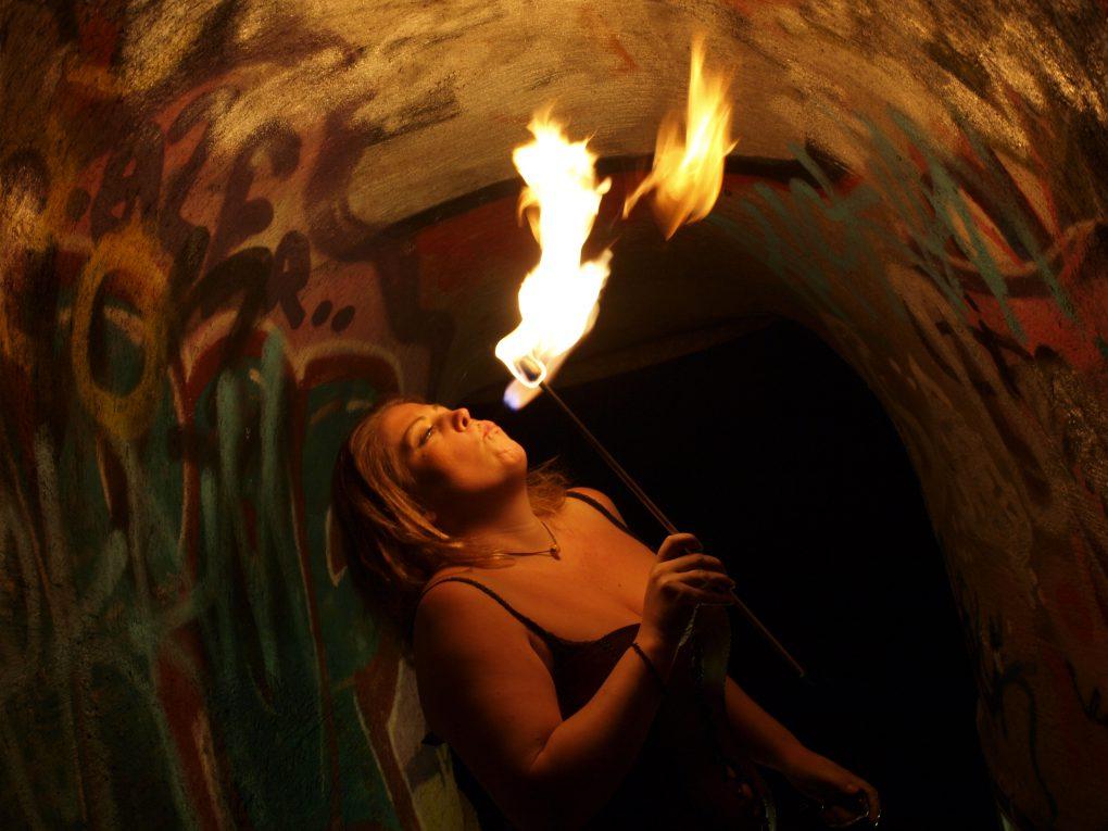 Körperfeuer - Feuer atmen